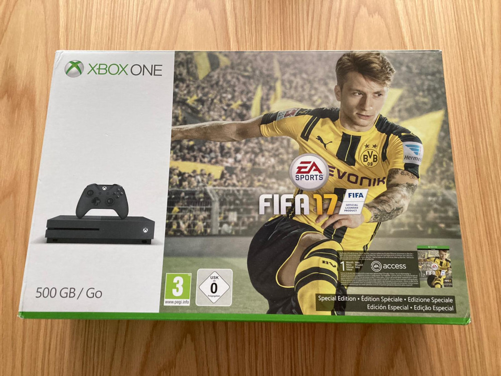 Xbox One S FIFA 17 Console Box Only