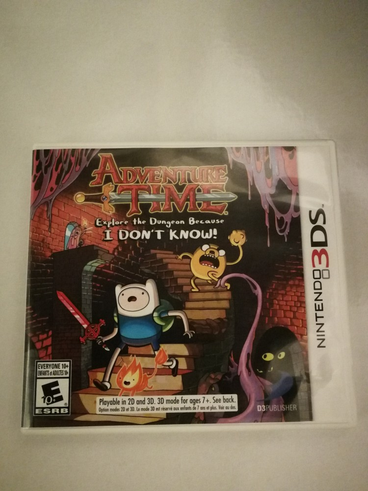Adventure Time - Explore the Dungeon because i Don't Know - 3DS Game